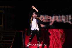 Maestro de ceremonias en cabaret