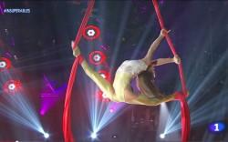Telas aéreas acrobáticas en los mejores eventos