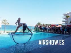 acrobata en waterbowl